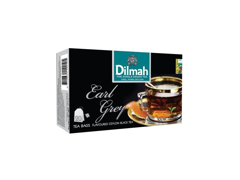 503399, Dilmah Earl Grey must tee niidikesega kotis 20*1,5g