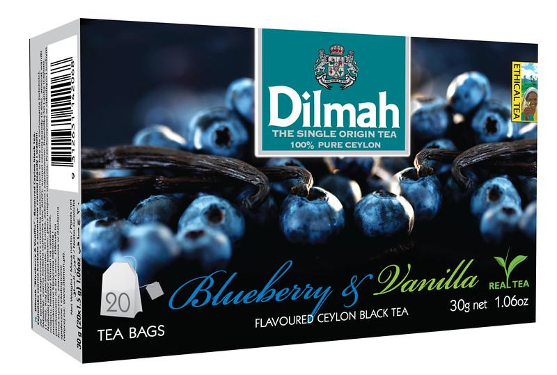 504399, Dilmah mustika/vanillimaits. must tee niidikesega kotis 20*1,5g