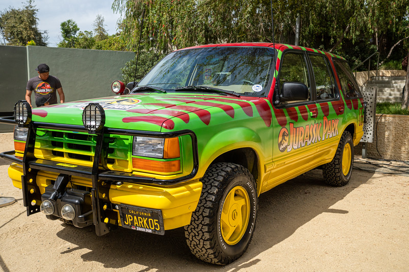 Replica Jurassic Park Ford Explorer!