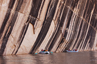 Tiger Wall on Colorado's Yampa River, June 2008.