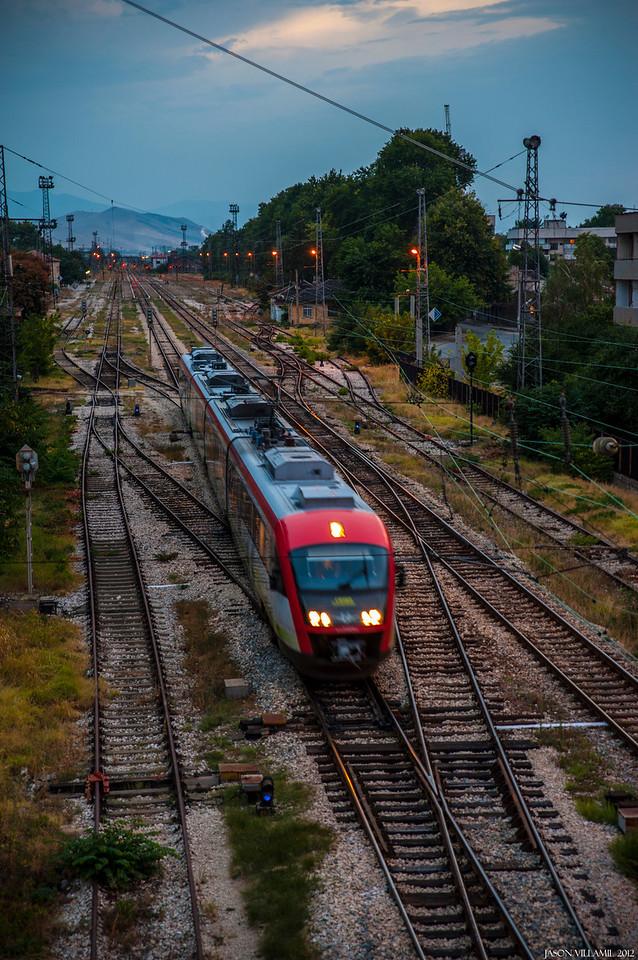 The Stambolisky Train