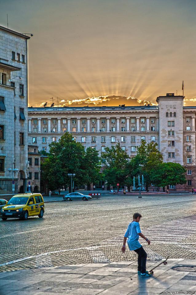 Sunset - Sofia - Bulgaria