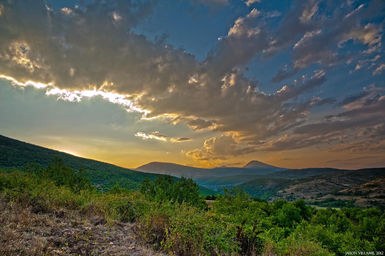 Bulgaria's Sunset