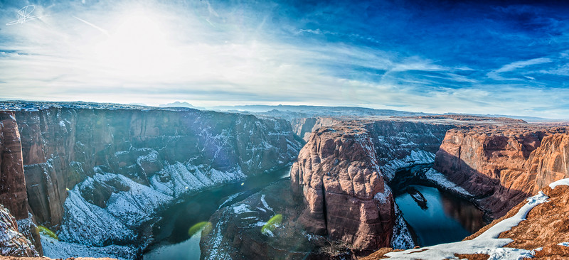 Horseshoe Bend Panoramic