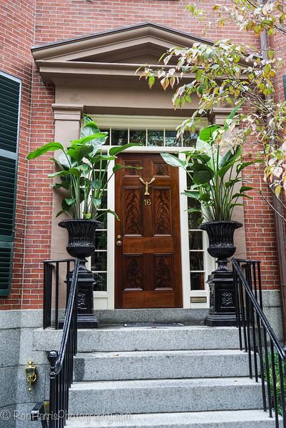 Boston residential area