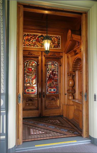 The Carson Mansion (Ingomar Club)  Eureka, CA