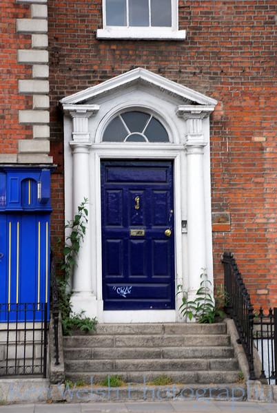 """Dark Blue in Dublin""<br /> <br />  <br /> © Copyright Ken Welsh"