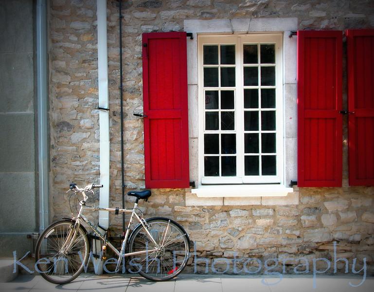 """""""Window on Quebec""""<br /> <br /> Quebec City<br /> © Copyright Ken Welsh"""