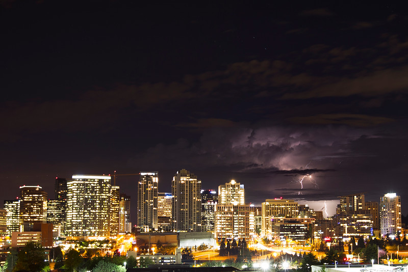 Summer Storm - Pacific Northwest