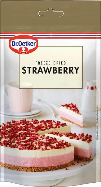 309399 Dr.OETKER külmkuivatatud maasikalaastud 10g (10) 5701073041345