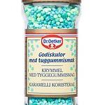 303799Dr.OETKER karamellikristallid (sinine-roheline) 65g5701073063101