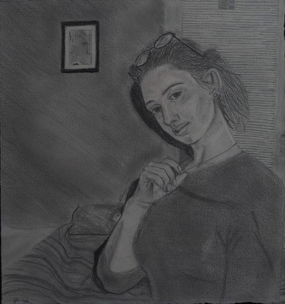 "graphite on paper, 15 x 16""   2007"