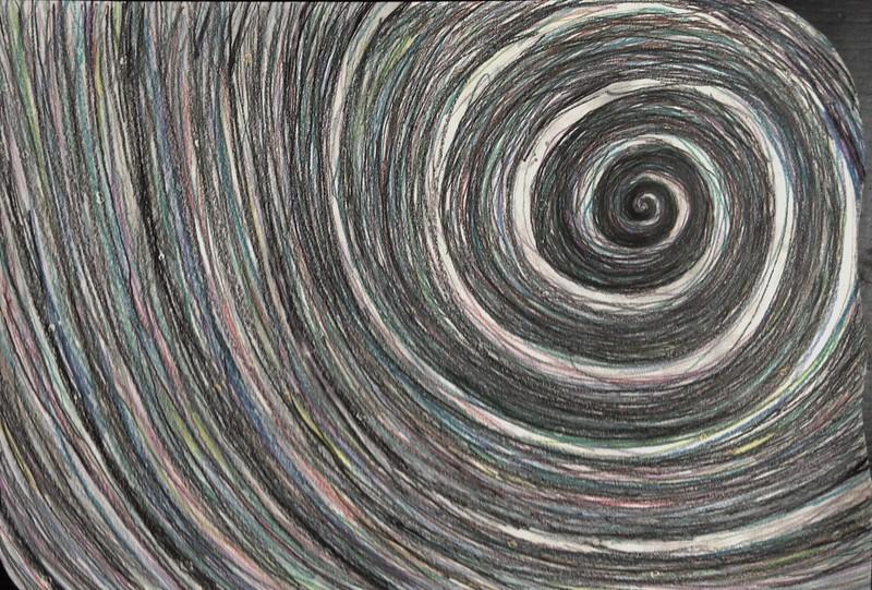 graphite & colored pencil on paper,     2011