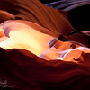 Castle of Color - Antelope Canyon, Navajo Land, AZ