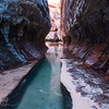 Sculptured Rock - Subway, Zion NP, UT