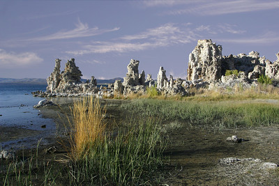 Tufa formations on the south shore of Mono Lake, CA.