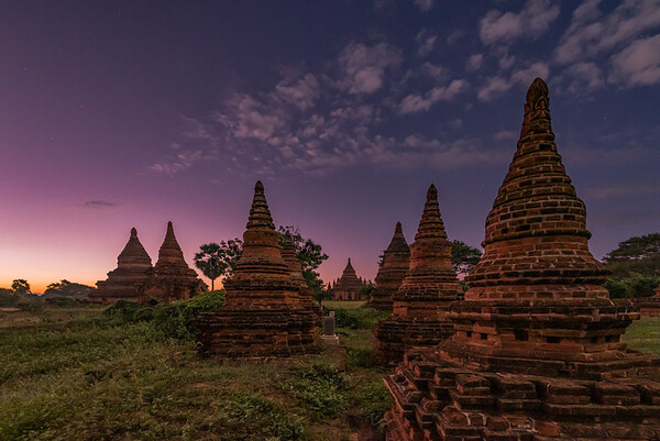 Sunrise at the Temples - Bagan, Myanmar
