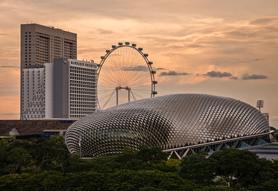 Theaters by the Bay & Flyer, Singapore