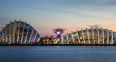 Flower Domes, Marina Bay Gardens, Singapore