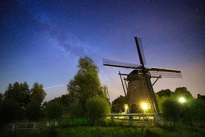 De Veer in Haarlem by night
