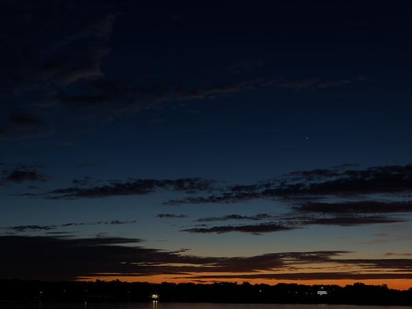 E-M1 and Sunrise at White Rock Lake