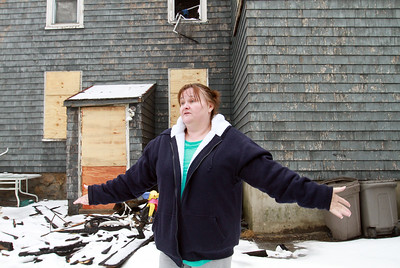 A fire on Jan. 20 destroyed the two-family home owned by Toni Durfee located at 70 Berkeley St. in Lawrence.  Durfee and nine others, including her children and grandchildren, fled to safety.