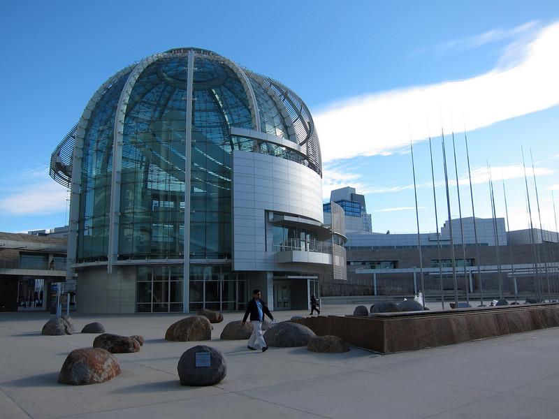 Mar 1: City Hall, San Jose. Like a surreal Mars scape.
