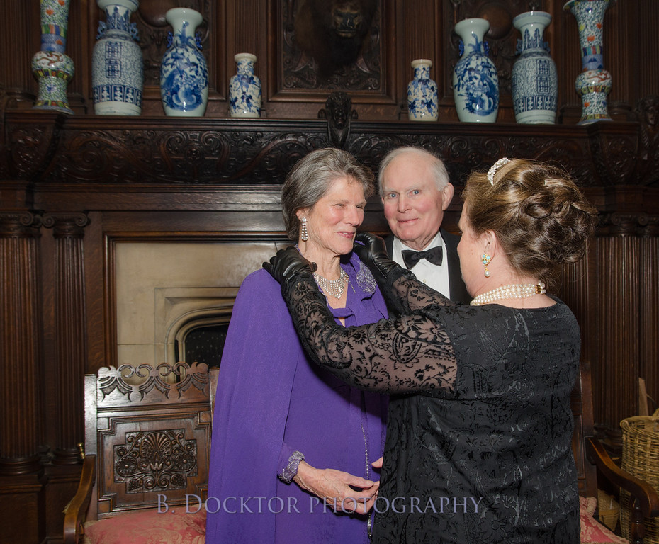 Joan and Paul Kopperl with library honoree Ann Brown