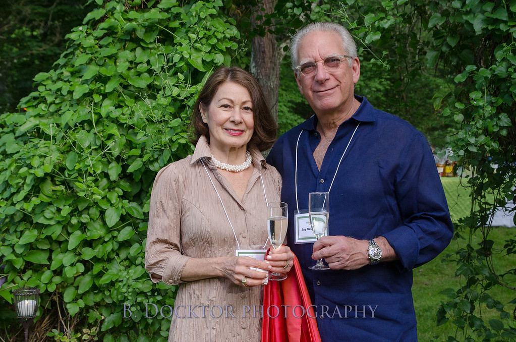 Tessy Keller and Jay Neuschatz, owners of TK Home and Garden in Hudson