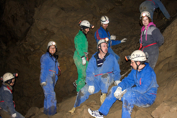 Caving in Canmore