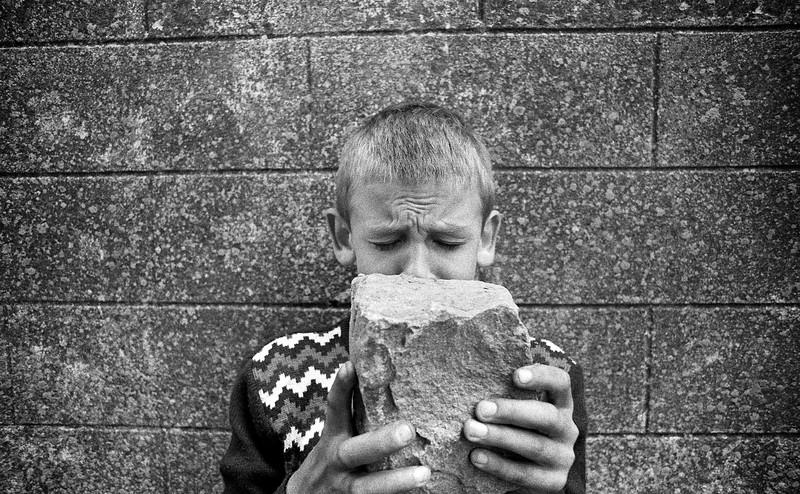 Tubize, Belgium, (Circa 1980). Original Fine Art Documentary Photograph by Michel Botman © north49exposure.com