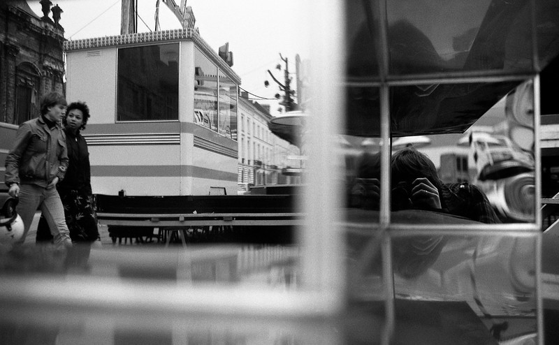 Self portrait, Gent, Belgium © Michel Botman Photography