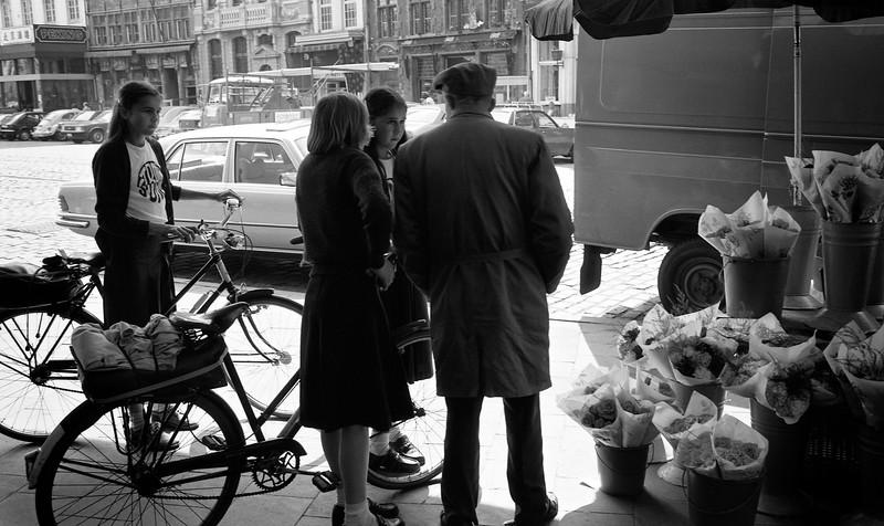 Gent, Belgium, (Circa 1980). Original Fine Art Documentary Photograph by Michel Botman © north49exposure.com