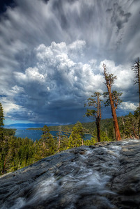 Storm FlowerEagle Falls, Lake Tahoe  Nature is such a drama queen sometimes.