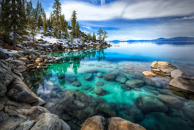 AquamarineLake Tahoe, Nevada  Like a jewel beyond price... The gem of the ages. She was... Aquamarine.