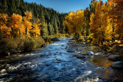 The River Falls in AutumnTruckee, CA  Fall, autumn, colors, yum Get set for winter's numb. But for now I gotta say, It's pretty awesome here today.