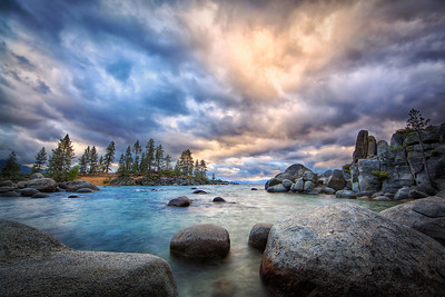 Storm's A-Brewin'Lake Tahoe, Nevada  Drama, sky, storm, sweet.