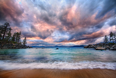 Stormy MoodLake Tahoe, Nevada  She was in a mood. She just was. No getting around it, no talking her out of it.   She was beautiful, even then.