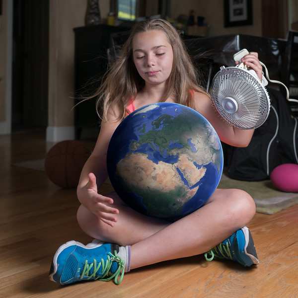 """I would blow air onto earth to push the pollution away."""