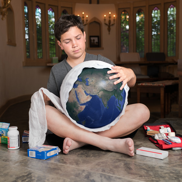 """""""I would wrap a bandage around Earth until all its wounds are healed."""""""