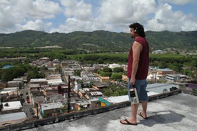 Danny McBride San Juan rooftop