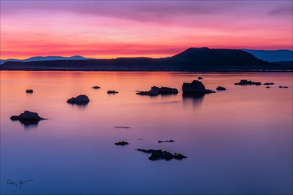 Red Dawn, Mono Lake