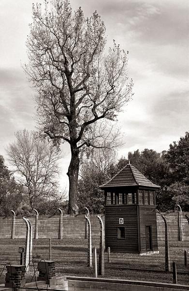 Auschwitz--guard house