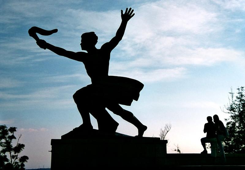 Budapest, liberation monument, Gellert Hill