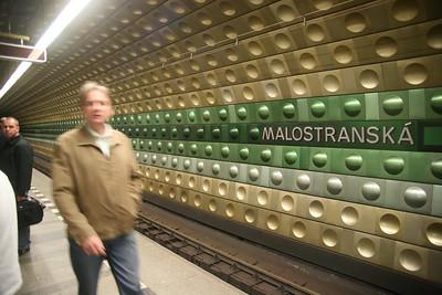 Metro station, Prague