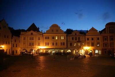 Town square, Cesky Krumlov, Czech Republic