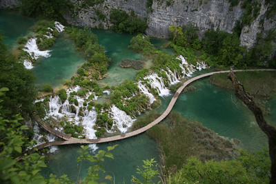 Boardwalk, Plitvice Lakes National Park, Croatia