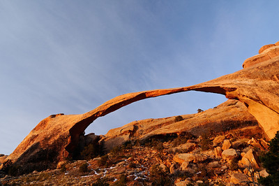 Landscape Arch Sunrise Arches National Park