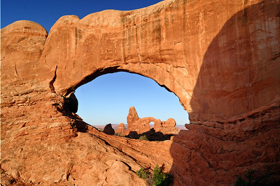 Turret Arch through North Window Arches National Park