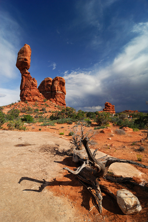Clearing Storm and Balanced Rock Arches National Park